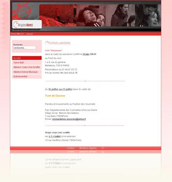 site www.brigittedumez.net